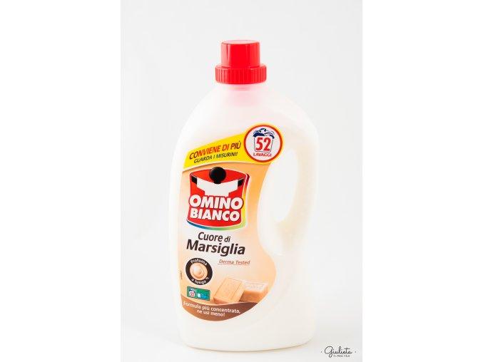 Omino Bianco prací gel s vůní Marseillského mýdla, 52 pracích dávek