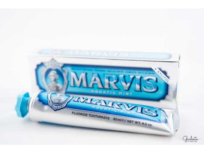 Marvis zubní pasta Aquatic Mint s Xylitolem, 85 ml