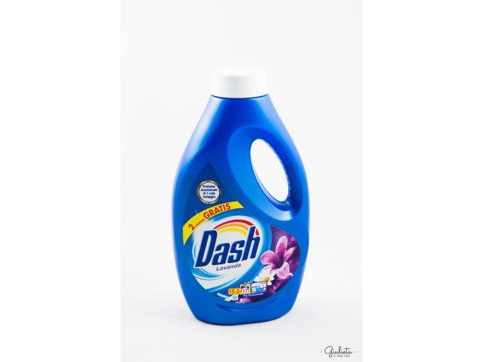 Dash prací gel levandule/heřmánek, 15+2 pracích dávek