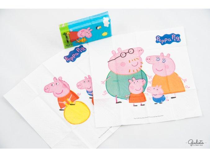 Clean Paper kapesníčky s motivy Peppa Pig, 6 balíčků