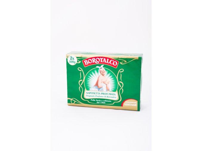 Borotalco toaletní mýdlo, 2x100 g