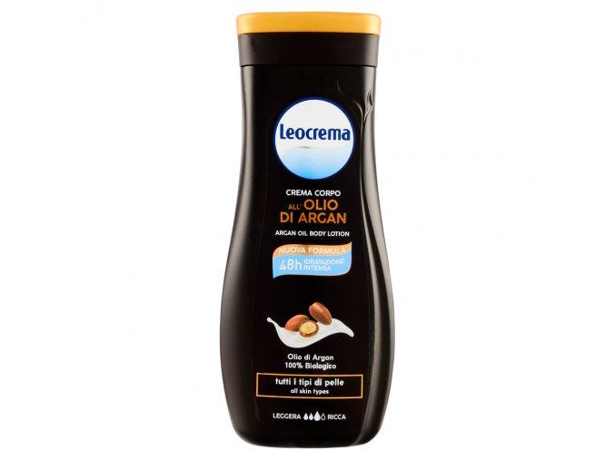 Leocrema tělové mléko s arganovým olejem