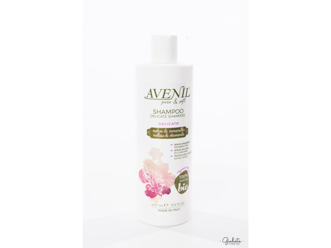 Avenil šampon Delicato, 400 ml