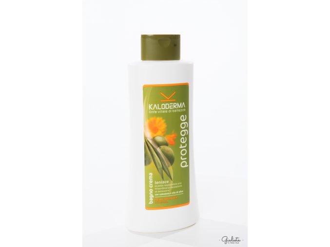 Kaloderma ochranný sprchový gel/krémová koupel s měsíčkem lékařským a olivovým olejem, 750 ml