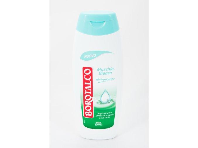 Borotalco osvěžující sprchový gel/perličková koupel s vůní bílého pižma, 500 ml