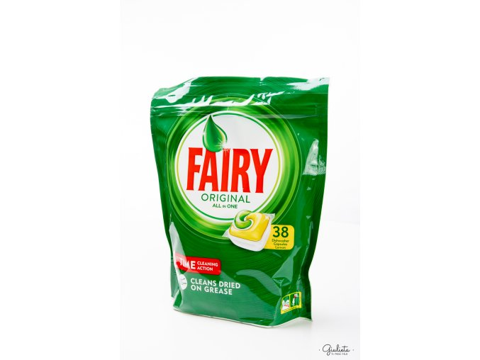 Fairy kapsle do myčky Original All In One Lemon, 38 kapslí