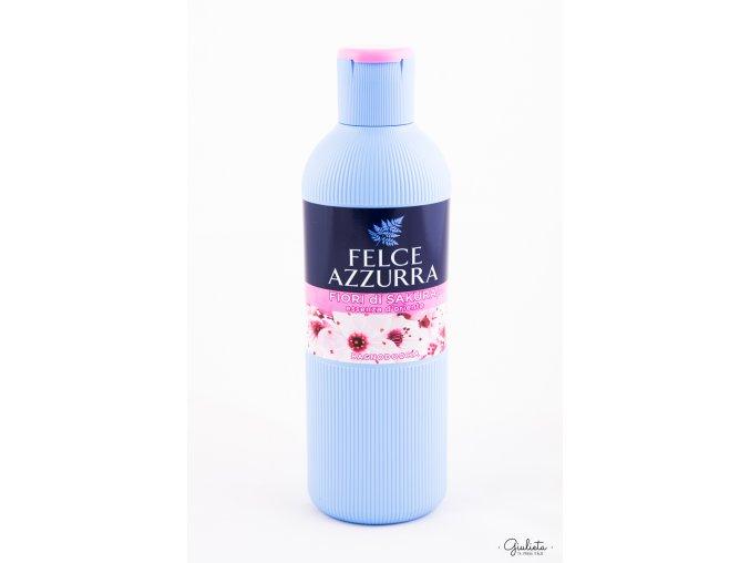 Felce Azzurra sprchový gel/pěna do koupele Sakura, 650 ml