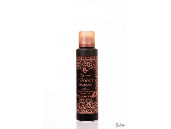 Tesori d'Oriente Hammam deodorant ve spreji, 150 ml