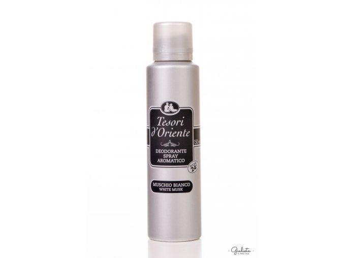 Tesori d'Oriente Muschio Bianco deodorant ve spreji, 150 ml
