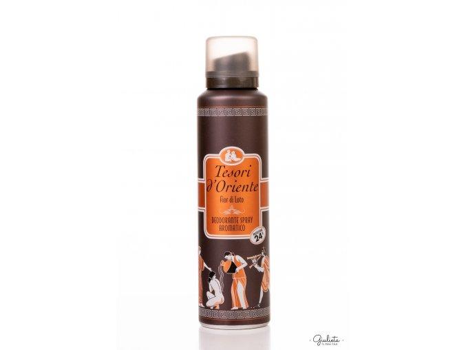 Tesori d'Oriente Fiori di Loto deodorant ve spreji, 150 ml