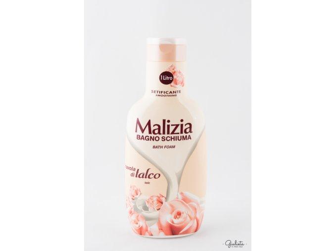 Malizia pěna do koupele Talco, 1 litr