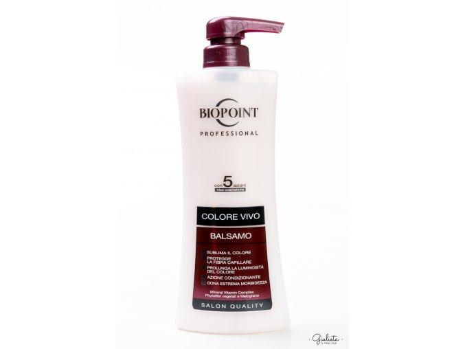 Biopoint Colore Vivo profesionální balzám na barvené vlasy, 400 ml