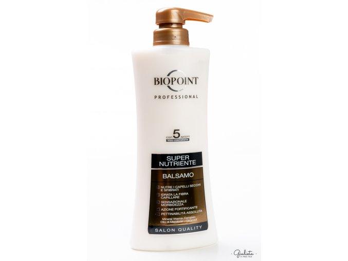 Biopoint Super Nutriente profesionální balzám na suché a křehké vlasy, 400 ml