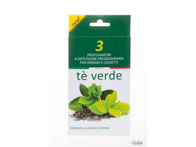 Modina vonné sáčky do skříní s vůní zeleného čaje, 3 ks