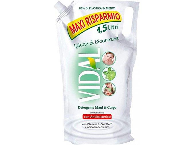 Vidal antibatterico Menta & Lime mýdlo