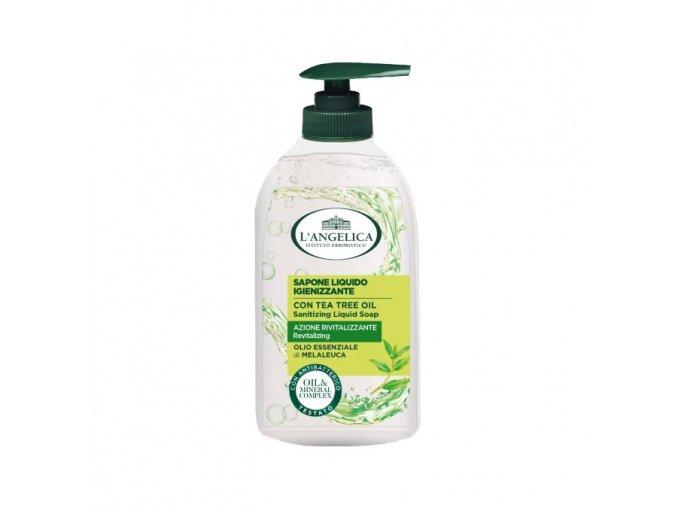 L'Angelica Sapone Liquido Igienizzante con Olio essenziale di Melaleucaje