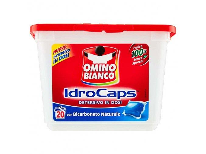 Omino Bianco gelové kapsle na praní s prací sodou