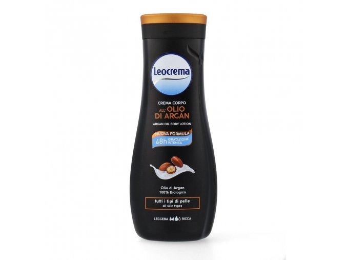Leocrema tělové mléko s arganovým olejem, 400 ml