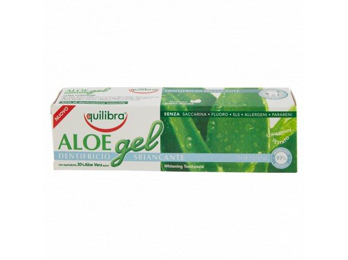 Equilibra Aloe gel zubní pasta s trojitým účinkem