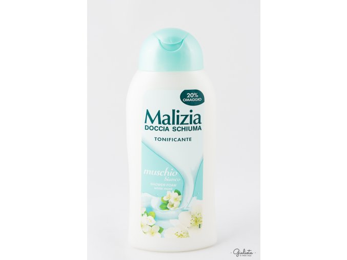 malizia doccia muschio bianco rilassante 300 ml