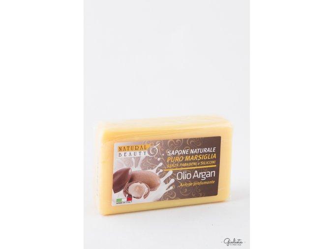 Natural Beauty toaletní mýdlo s Arganovým olejem, 150 g