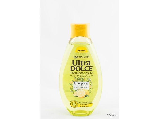 Ultra Dolce sprchový gel Limone e Fiore di Sambuco, 500 ml
