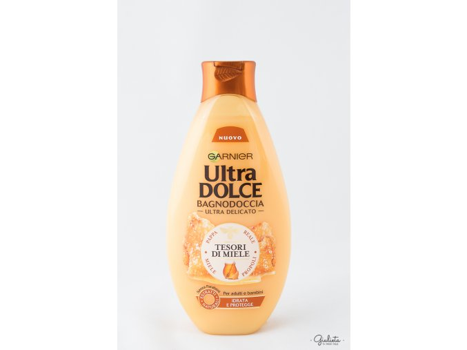 Ultra Dolce sprchový gel Tesori di Miele, 500 ml