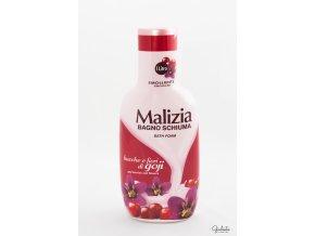 Malizia pěna do koupele Bacche/Fiori di Goji, 1 litr