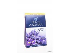 Felce Azzurra vonné sáčky do skříní s vůní levandule a kosatce, 3 ks