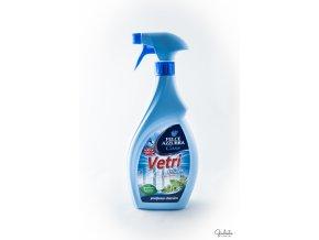 Felce Azzurra čisticí prostředek na okna a zrcadla Casa Vetri s rozprašovačem, 750 ml