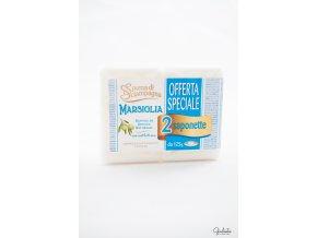 Spuma di Sciampagna toaletní mýdlo s vůní Marseille, 2x125 g