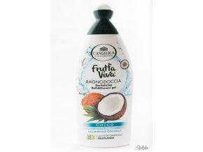 L'Angelica Frutta Viva sprchový gel/perličková koupel Cocco, 500 ml
