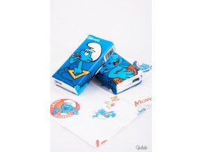 Worldcart kapesníčky s motivy šmoulů, 10 balíčků