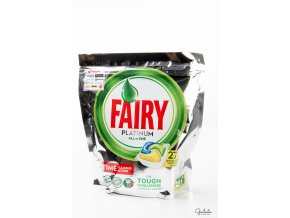 Fairy kapsle do myčky All In One Platinum Lemon, 27 kapslí