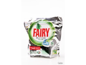Fairy kapsle do myčky All In One Platinum, 24 kapslí