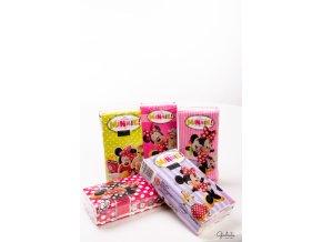 Worldcart kapesníčky s motivy Minnie Mouse, 10 balíčků