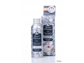 Tesori d'Oriente koncentrovaný parfém na prádlo s vůní bílého pižma a lilie, 100 ml