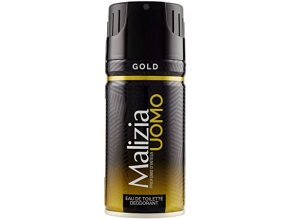 Malizia UOMO Gold deodorant ve spreji, 150 ml