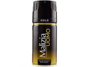 Malizia UOMO Gold deodorant ve spreji, 150 ml