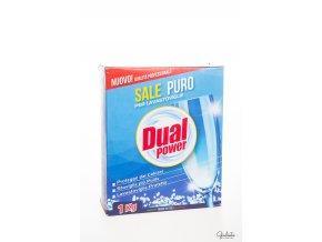 Dual Power čistá sůl do myčky nádobí, 1 kg