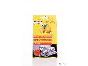 Sonda deodorant do myčky nádobí s vůní citrónu, 2 ks