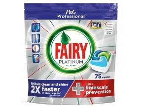 Fairy kapsle do myčky All In One Platinum Professional, 75 kapslí