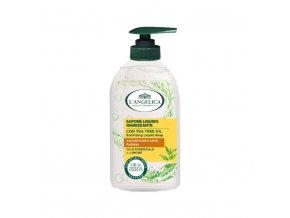 L'Angelica čisticí tekuté mýdlo s citronovým esenciálním olejem a olejem z čajovníku