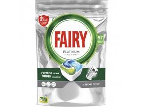 Fairy kapsle do myčky All In One Platinum, 57