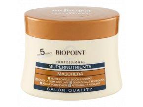 Biopoint Super Nutriente profesionální maska na suché a křehké vlasy