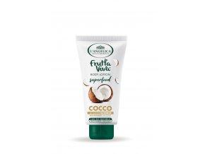 L'Angelica Frutta Viva vyživující tělové mléko s kokosovým olejem superfood Cocco
