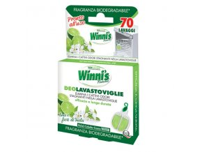 Winni's osvěžovač do myčky s vůní limetky a jablečných květů