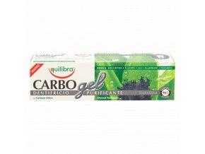 Equilibra Carbo gel zubní pasta s aktivním uhlím