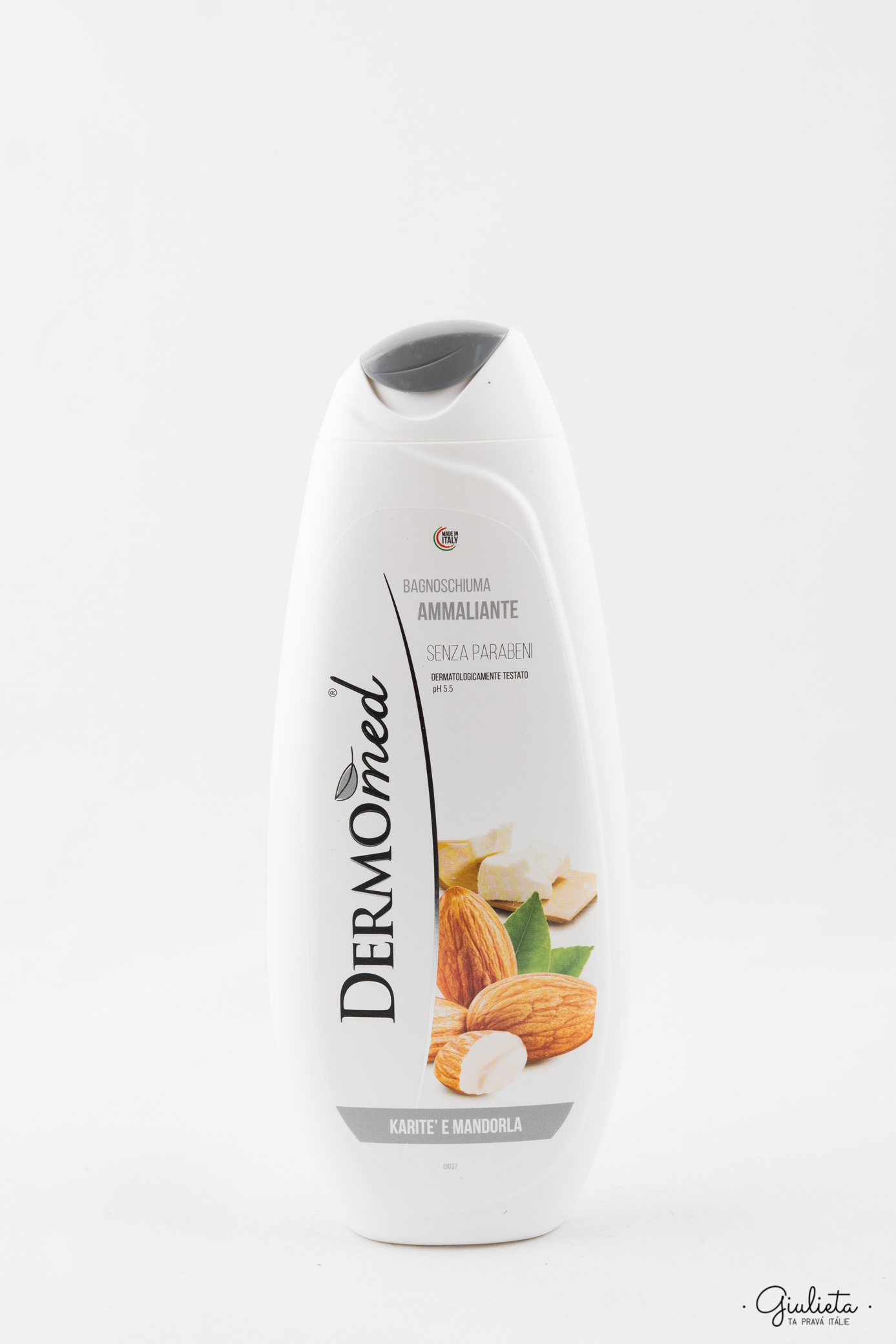 Dermomed sprchový gel/pěna do koupele Karitè e Mandorla, 500 ml