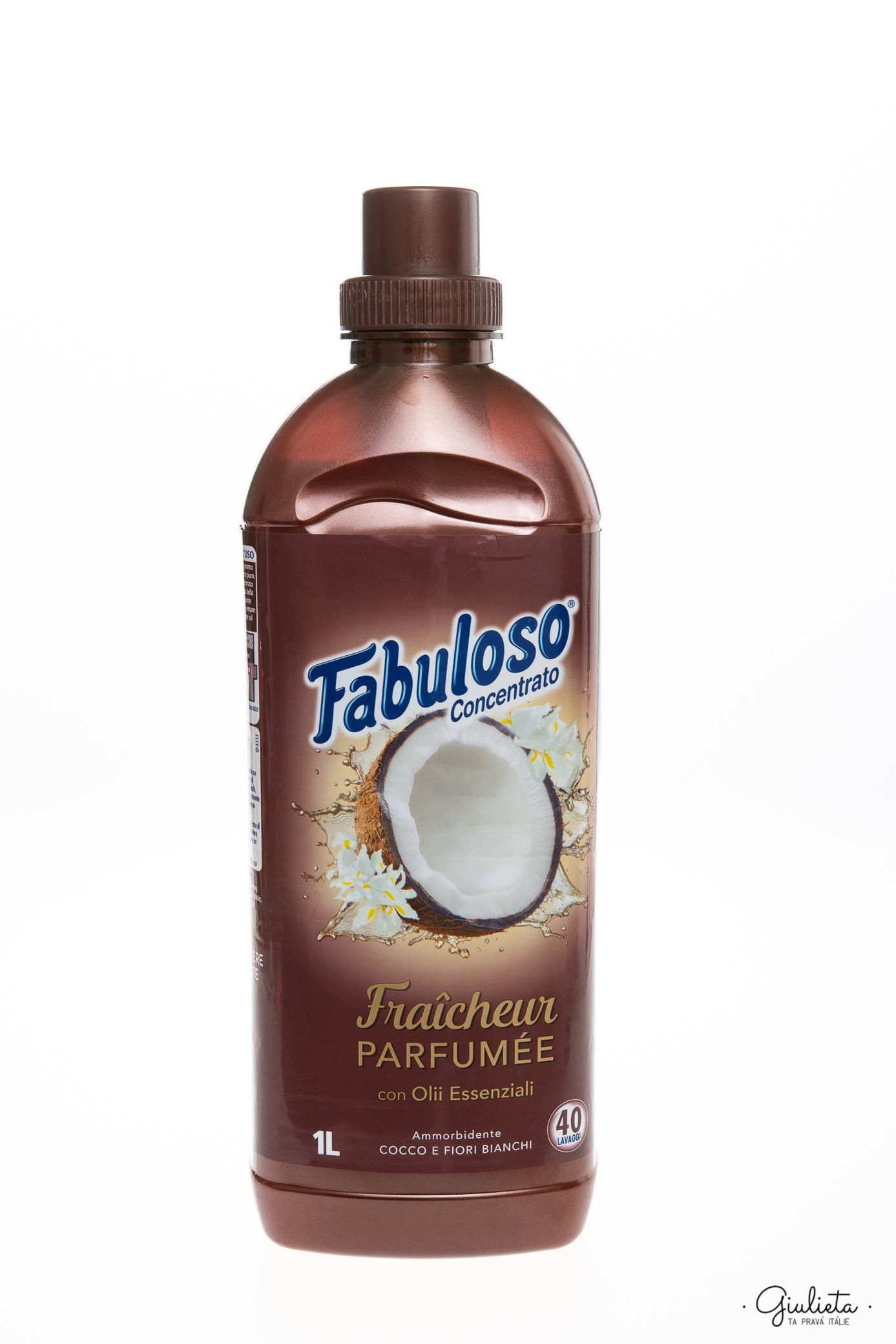 Fabuloso aviváž koncentrát s vůní bílých květin a kokosových ořechů, 1 litr